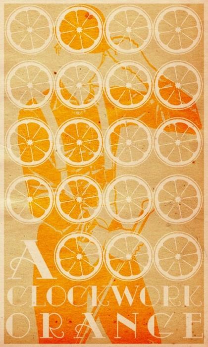 A Clockwork Orange - 20 кинопостеров на тему ультранасилия. Изображение № 15.