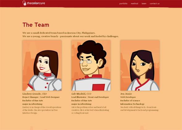 Персонажи в дизайне сайтов. Изображение № 3.