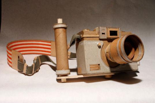 Картонные фотокамеры Киля Джонсона. Изображение № 3.