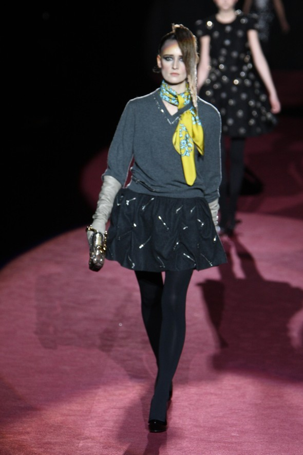 Marc Jacobs fall winter 2009–2010. Изображение № 12.