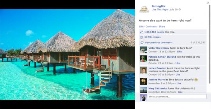 Названы самые популярные фото года в «Фейсбуке». Изображение №15.