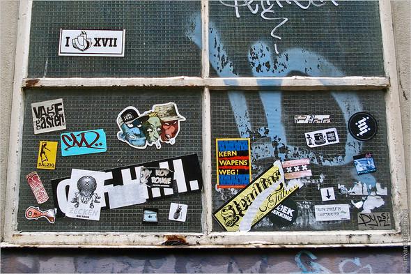 Стрит-арт и граффити Амстердама, Нидерланды. Изображение № 22.