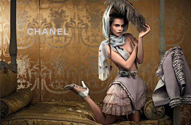 Вышли новые кампании Chanel, Donna Karan, Jaeger, Prada и THVM. Изображение № 1.