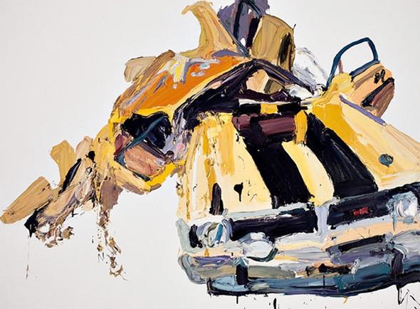Абстрактные автомобили Бена Куильти. Изображение № 5.
