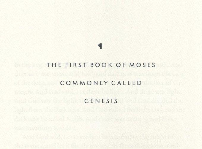 На дизайнерское переиздание Библии собрали полмиллиона долларов. Изображение № 5.