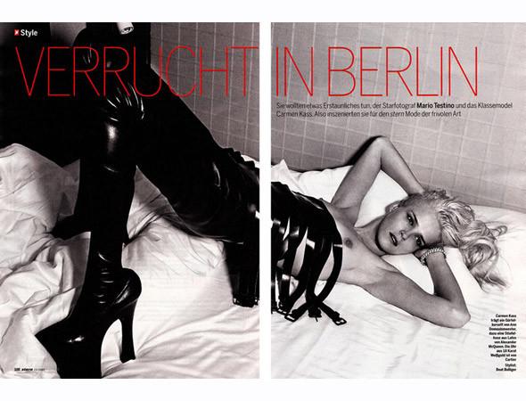 Съёмка в немецком еженедельнике Stern. Изображение № 65.