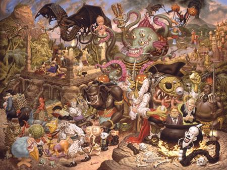 Эйсид-поп сюрреализм Тодда Шорра. Изображение № 7.