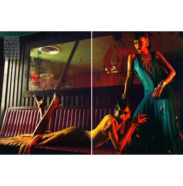 Изображение 15. The Blackallure: съемка с темнокожими моделями в итальянском Vogue.. Изображение № 15.