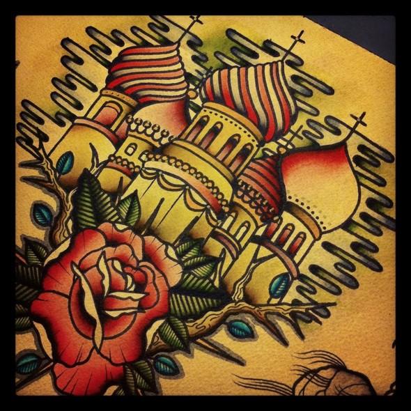 Kim-Anh Nguyen-Dinh : От рисунка к татуировке. Изображение № 3.