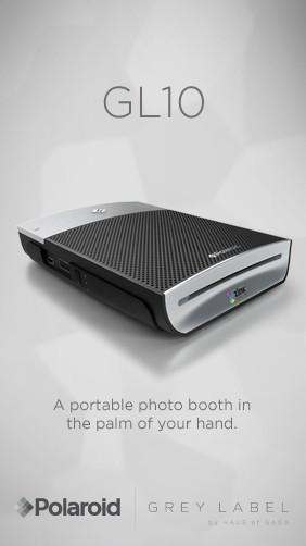 Lady Gaga представила мобильный принтер Polaroid. Изображение № 1.