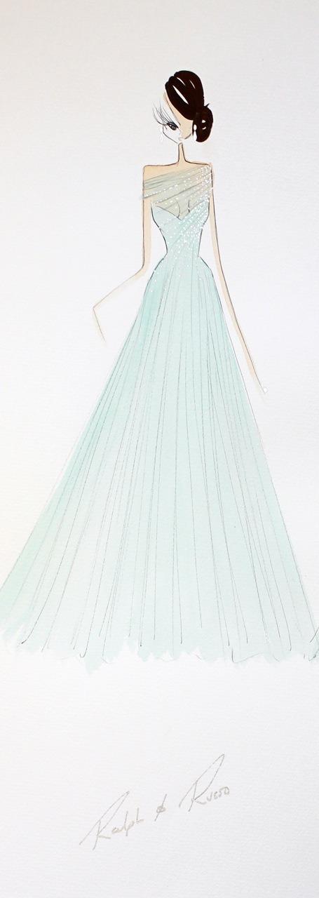 10 платьев диснеевских принцеcc от мировых дизайнеров в Harrods. Изображение №12.