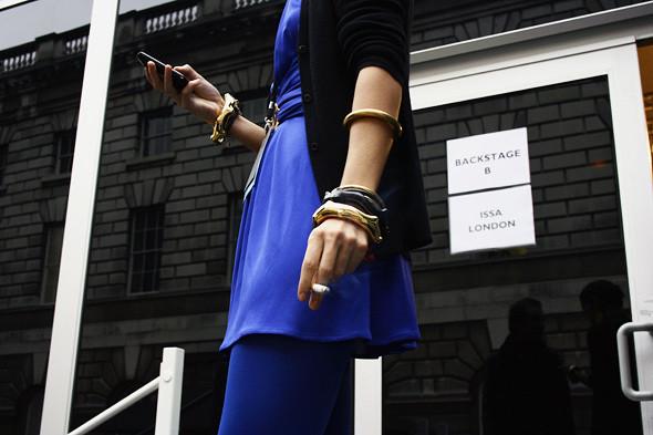 Изображение 4. Детали: London Fashion Week AW 2011.. Изображение № 4.