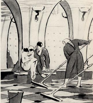 Леонид Сойфертис. рисунок, карикатура. Изображение № 10.