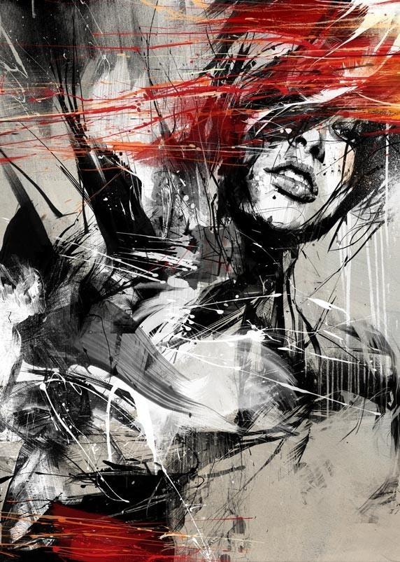 Russ Mills : графика, фотография и живопись. Изображение № 1.