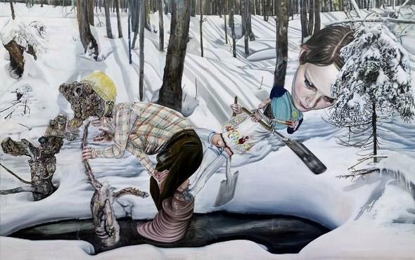 """""""Искусство расширенного сознания"""" в полотнах швейцарского художника. Изображение № 8."""