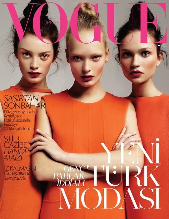 Обложки Vogue: Австралия, Британия, Италия и Турция. Изображение № 4.
