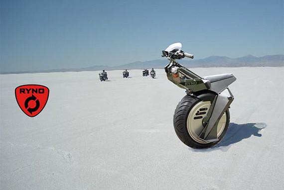 Изображение 1. Микс из Segway с мотоциклом.. Изображение № 1.