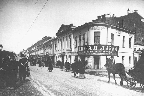 Пивная лавка в доме №8/12 по Новинскому бульвару в начале XX века . Изображение № 5.