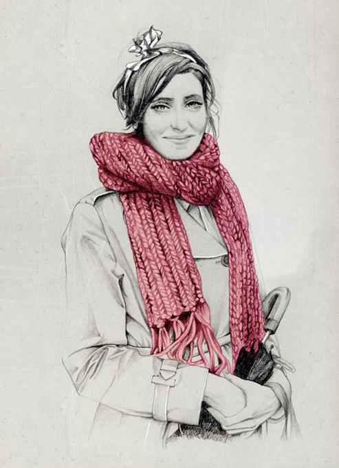 Изображение 36. Акварельные иллюстрации Caroline Andrieu.. Изображение № 36.