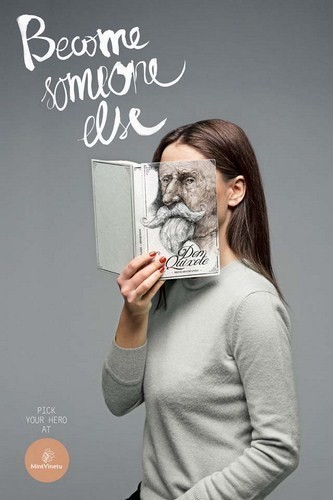 Изображение 4. Книжные обложки вместо лиц.. Изображение № 4.