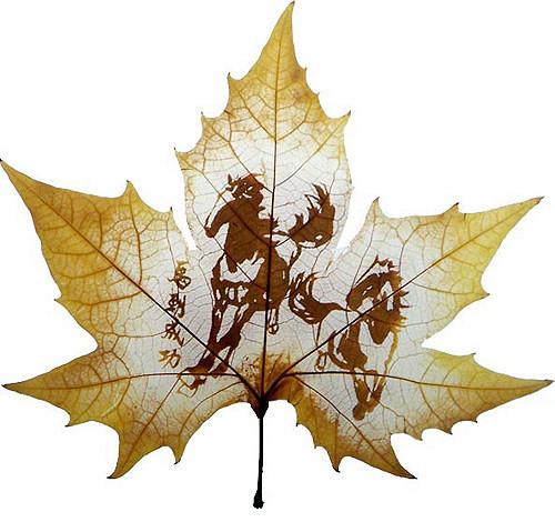 Резьба по листьям. Изображение № 3.