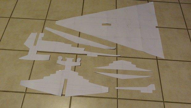 Энтузиаст собрал дрон в виде имперского крейсера. Изображение № 4.