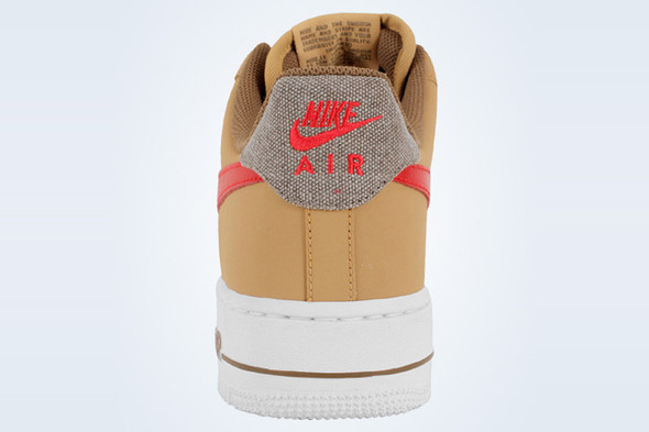 NIKE AIR FORCE 1 (GOLD DENIM). Изображение № 2.