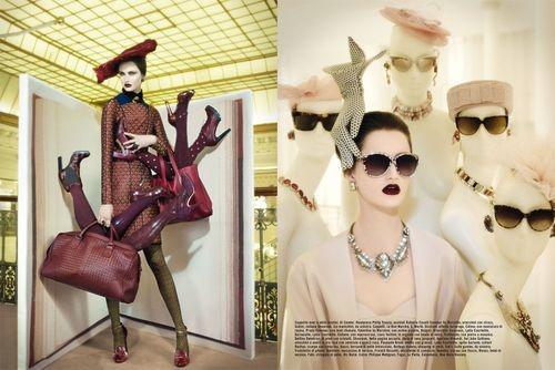 Вышли новые съемки Vogue, i-D, 10 и Interview. Изображение № 46.