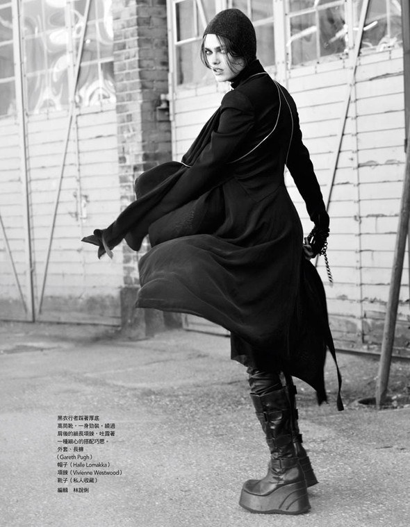 Fashion съемки: Vogue China & Taiwan October 2011. Изображение № 14.