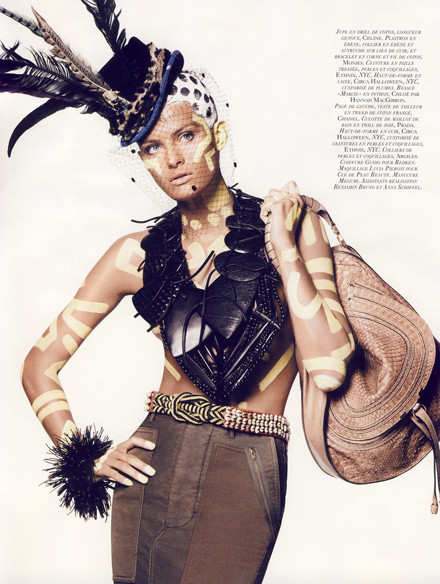 Vogue French November 2009. Изображение № 12.