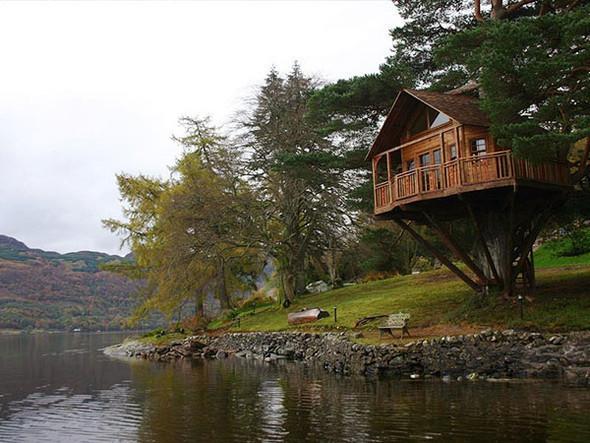 Дома надеревьях отAmazon Tree Houses. Изображение № 4.