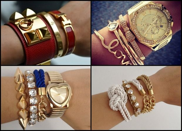 Новый тренд: Arm candy, Arm party или Bracelet stacking. Изображение № 3.