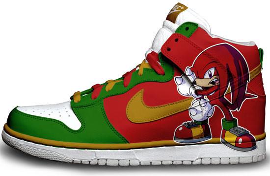 Метаморфозы белых кроссовок Nike. Изображение № 3.