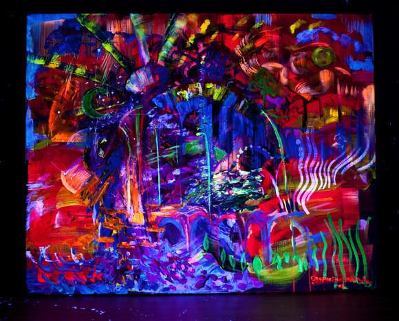Евгения Кобурнеева о трансовой живописи и картинах с 3D-эффектом. Изображение № 2.