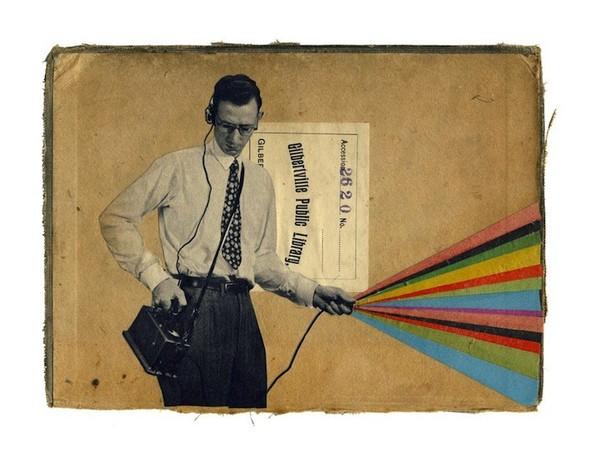 Клей, ножницы, бумага: 10 современных художников-коллажистов. Изображение № 53.