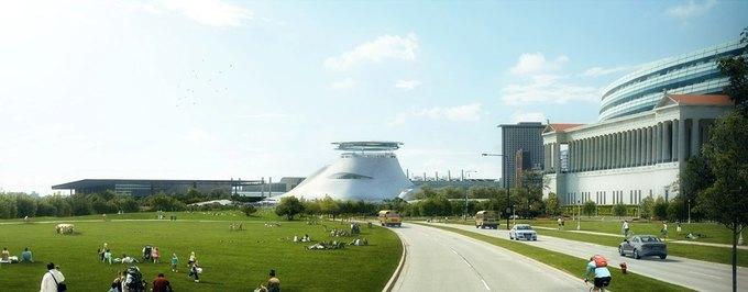 Концепт: музей Джорджа Лукаса в Чикаго. Изображение № 2.