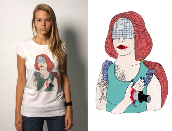 Дизайнерские футболки отT-store. Изображение № 14.