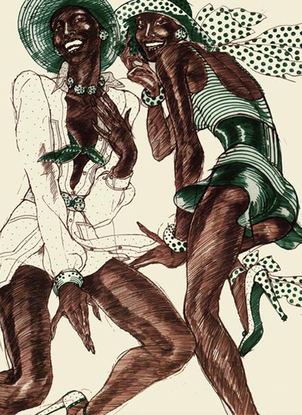 Antonio Lopez - легендарный fashion-иллюстратор. Изображение № 22.