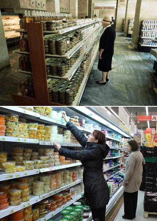Как изменились прилавки магазинов за 20 лет. Изображение № 23.