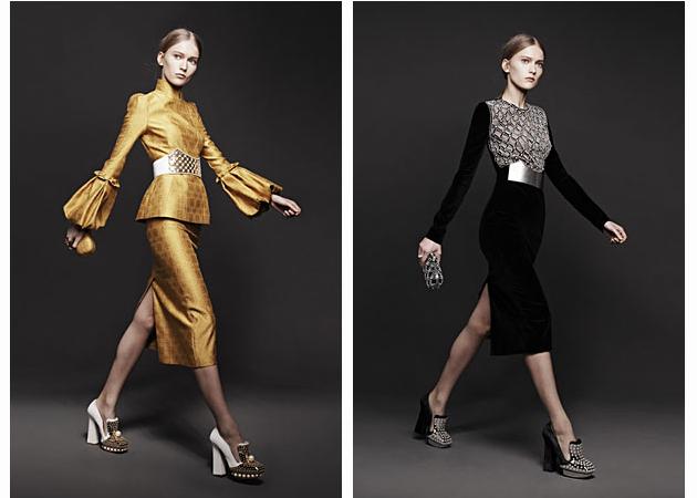 Вышли новые лукбуки Alexander McQueen и Moda Operandi. Изображение № 1.
