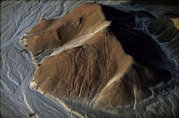 """""""Космонавт"""" на плато Наска. Перу. Изображение № 41."""