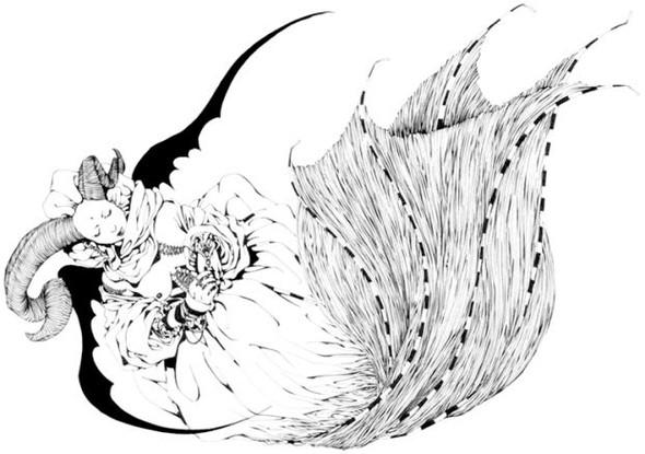 Katsuta Mako – черно-белая грация. Изображение № 1.