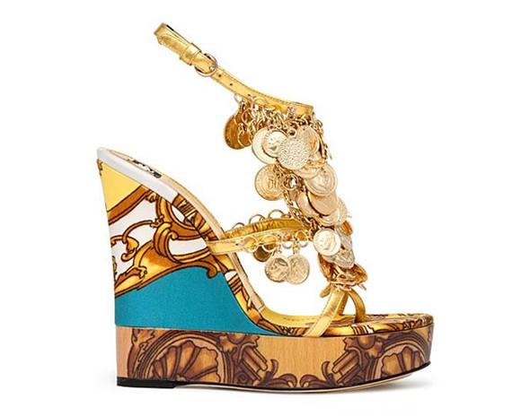 Модная обувь весна-лето 2012 от D&G. Изображение № 9.