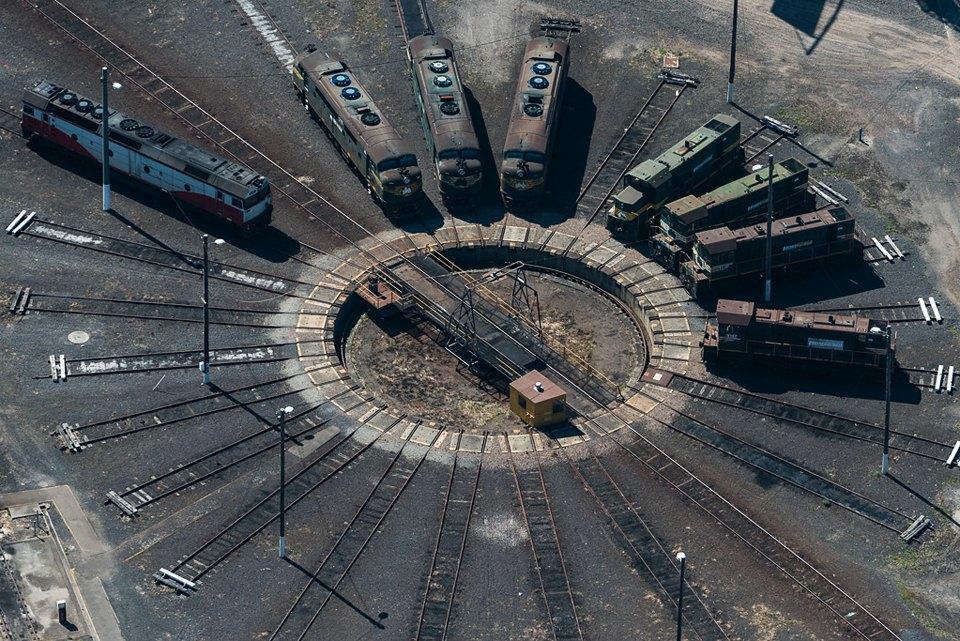 Фото: промзона Мельбурна, снятая свертолёта. Изображение № 12.