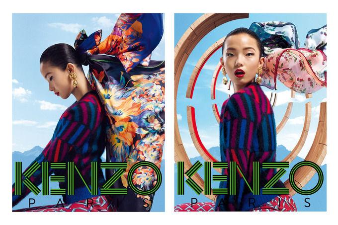 Вышли новые кампании Saint Laurent Paris, Kenzo и Carven. Изображение № 8.