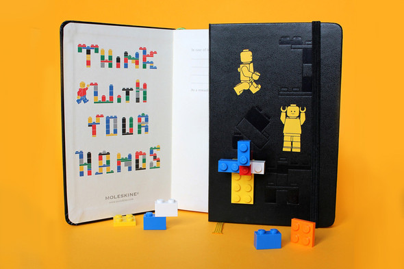 LEGO x Moleskine Notebooks Collection. Изображение № 2.