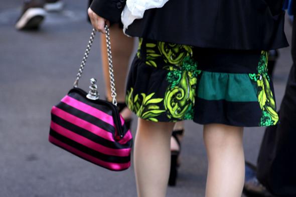 Изображение 23. Девушки на Milan Fashion Week: день 2.. Изображение № 22.