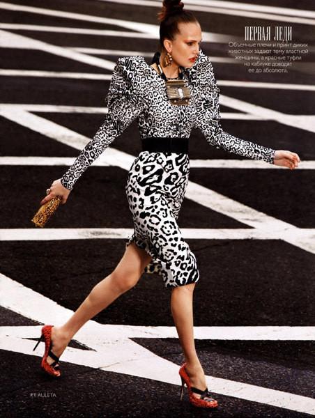 Съемка Vogue Россия, сентябрь 2009, фотограф Кэтрин Аулета. Изображение № 22.
