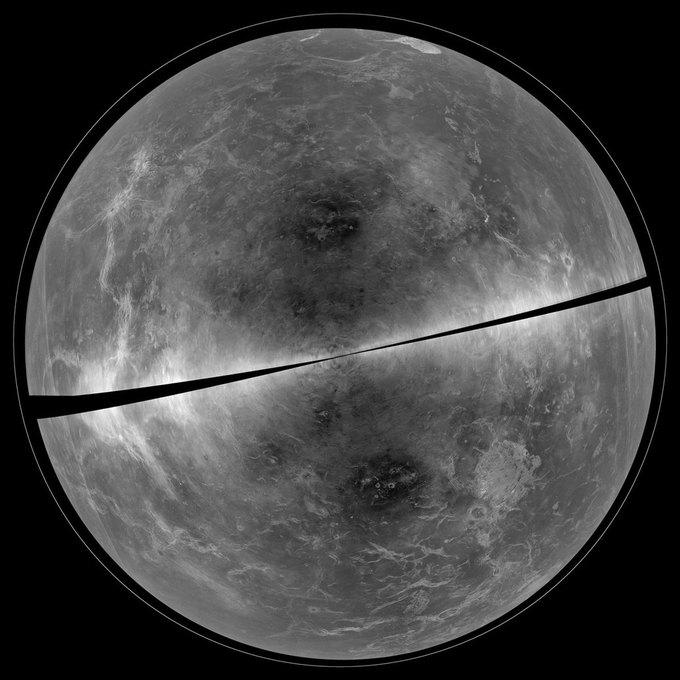 Фото дня: поверхность Венеры за облаками . Изображение № 1.