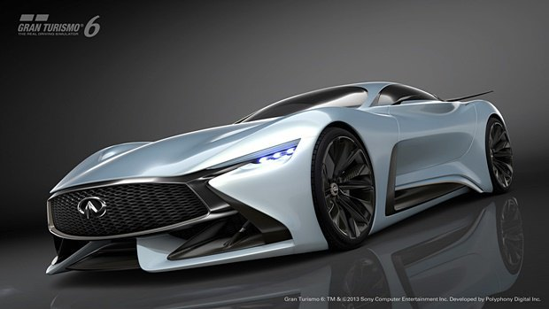 Концепт: суперкар Infiniti для игры Gran Turismo. Изображение № 24.